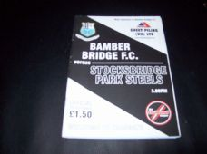 Bamber Bridge v Stocksbridge Park Steels, 2006/07